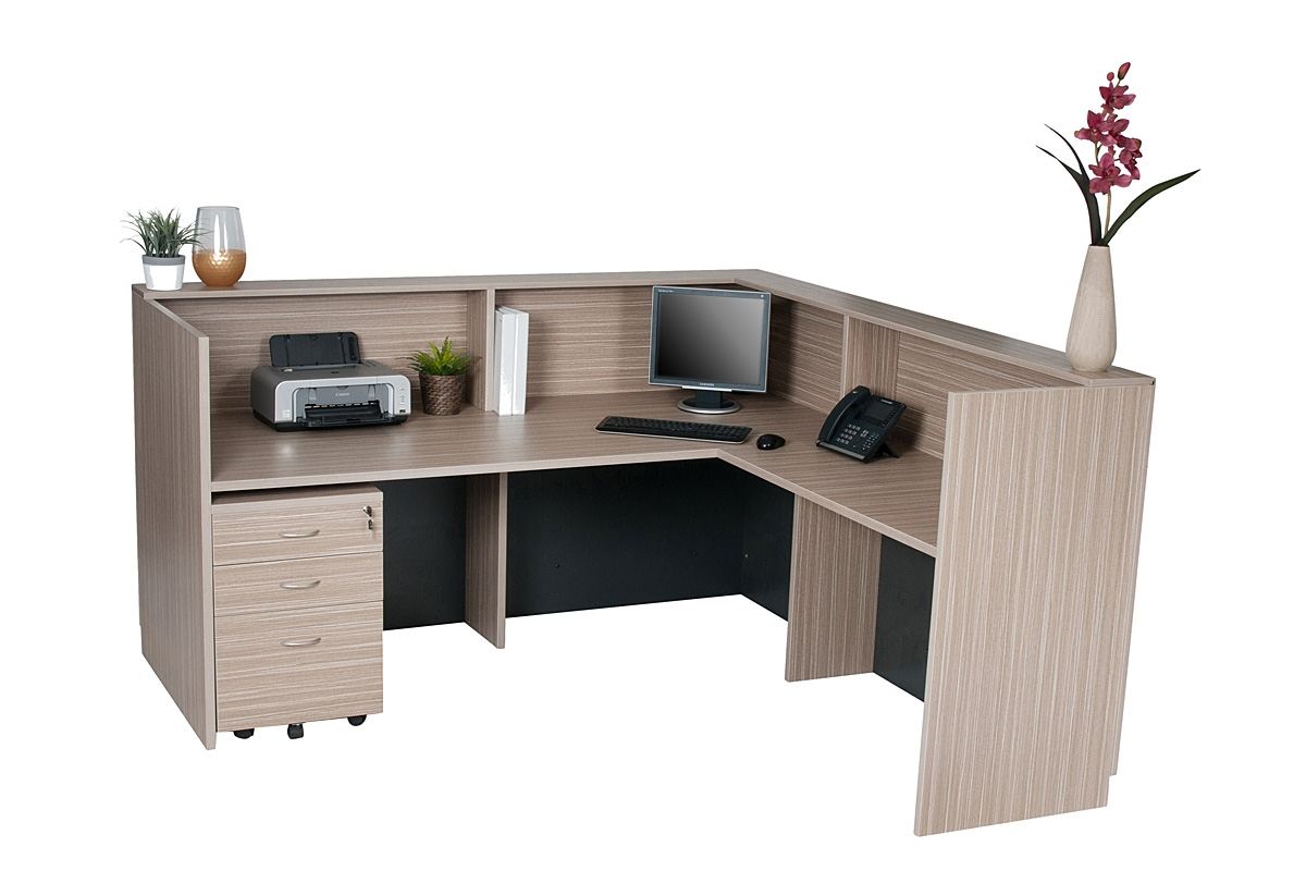 Desk unit inside