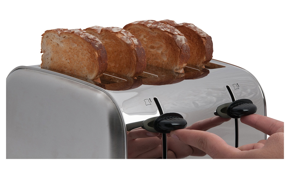 4 Bread Toaster Concept